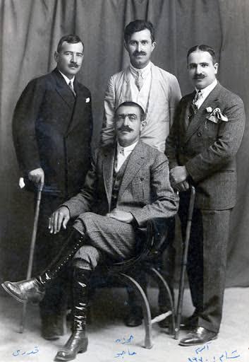 Midyat'ya modern aşiret reisi Haco Ağa. Mardin 1923